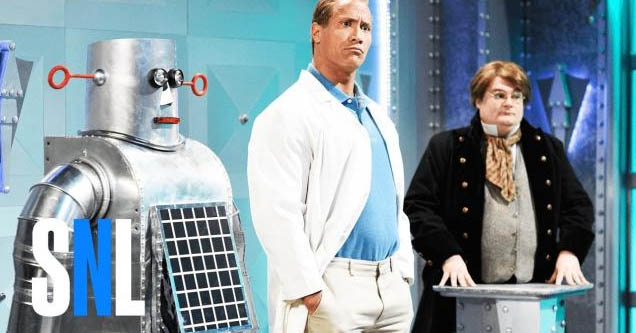 Dwayne 'The Rock' Johnson in SNL skit about evil inventions