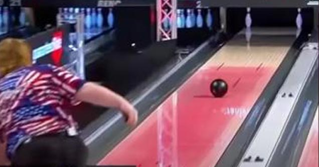 a bowler hitting a 7-10 split on live tv