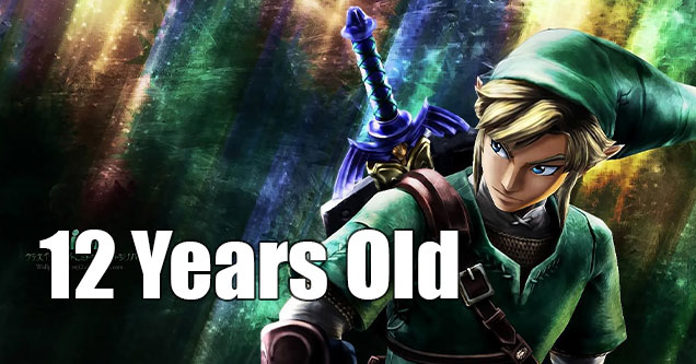 Video game protagonists who are children - Link - twelve years old