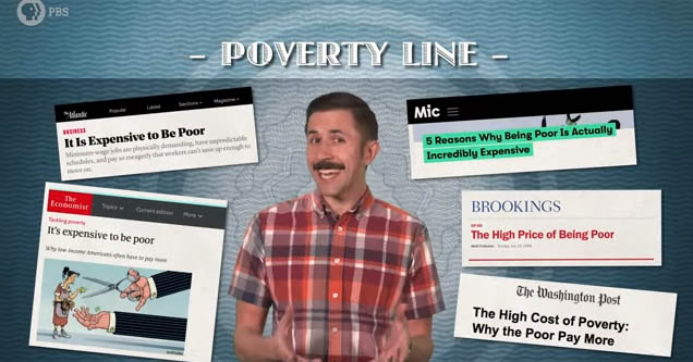 PBS video on the financial traps that make poverty inescapable