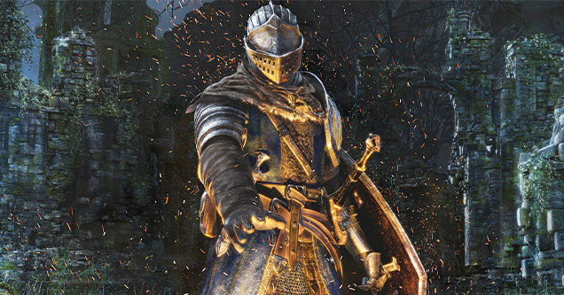 Dark Souls -  Games with ugly graphic but awesome gameplay