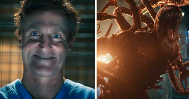 Woody Harrelson as Cletus Kasady in new 'Venon' trailer | Carnage in new 'Venom' trailer