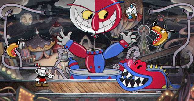 games that are tougher than dark souls -  Cuphead