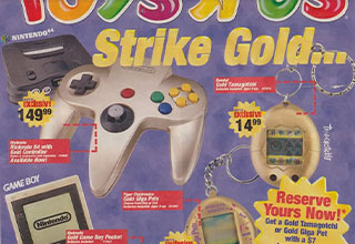 """Take a walk down memory lane with these now 'vintage' <a href=""""https://gaming.ebaumsworld.com/pictures/23-vintage-video-game-ads/83841263/""""><strong>video game ads</strong></a>. <br><br> Kids today don't know how great they have it. Remember walking around Toy R' Us like the lost protocol son returning home to the promised land. Well, the feelings kids in the <a href=""""https://www.ebaumsworld.com/pictures/30-great-vintage-computer-ads/83279155/""""><strong>80s and 90s</strong></a> when filling through ads in the mail, was what many of us lived for."""