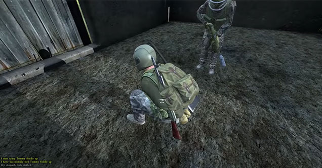 guy captured in DayZ is forced to sing a song