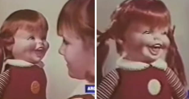 Stills from Remco's Baby Laugh-a-Lot commercial