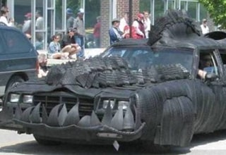 """No, I promise you this isn't the 30th installment of """"The Fast and the Furious."""" These are real cars out there on the road. Some people just have no fear, or in most cases no shame."""