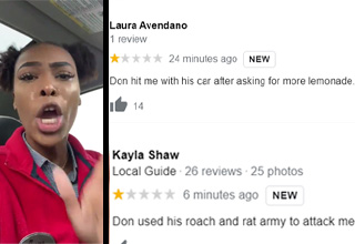 anisahkyera and google reviews