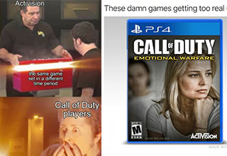 """Does <a href=""""https://gaming.ebaumsworld.com/blogs/how-to-fix-call-of-duty-black-ops-cold-war-shader-installation/86452395/""""><strong>Call of Duty</strong></a> have a deep story? Maybe. Is Call of Duty a franchise worth playing? Probably. That being said, there's only one absolute when it comes to the biggest <a href=""""https://gaming.ebaumsworld.com/articles/activision-says-500-gb-ps4-might-not-be-able-to-fit-call-of-duty-black-ops-cold-war-and-warzone/86655815/""""><strong>Activision</strong></a> franchise. <br><br> It is the fact that this game is an exploding barrel of random memes where each meme is worst than the other. Let us take a <a href=""""https://gaming.ebaumsworld.com/articles/honest-review-call-of-duty-black-ops-cold-war-6-5-10/86452135/""""><strong>deep dive</strong></a> into 30 such memes."""