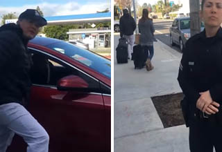 cops get mad at uber driver for exposing entrapment scheme