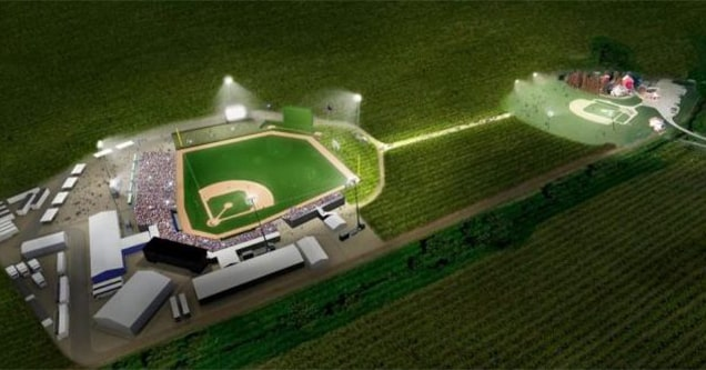 Field of dreams game Iowa