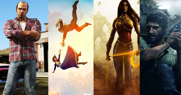 why 2013 was the best year for gaming -  Grand Theft Auto -  The Last of Us -  Bio Shock