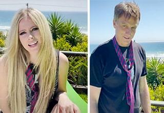 Avril Lavigne and Tony Hawk Tiktok