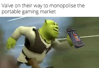"""Put down the sticks and put your scrolling fingers to work with this fresh set of <a href=""""https://gaming.ebaumsworld.com/pictures/28-memes-and-pics-to-give-you-a-boost/86936493/""""><strong>funny memes and pics</strong></a>.<br><br> If you're here looking for <a href=""""https://gaming.ebaumsworld.com/pictures/25-funny-memes-and-pics-from-the-games-we-play/86936464/""""><strong>memes</strong></a>, then you come to the right place. <br><br> And before you go, check out: <a href=""""https://gaming.ebaumsworld.com/videos/valve-announces-steam-deck-nintendo-switch-competitor/86936954/""""><strong>Valve Announces Steam Deck, Nintendo Switch Owners In Shambles </strong></a>"""