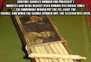 fact about brothel candles