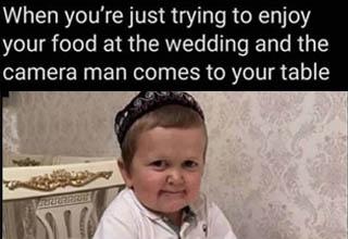 wedding cameraman meme