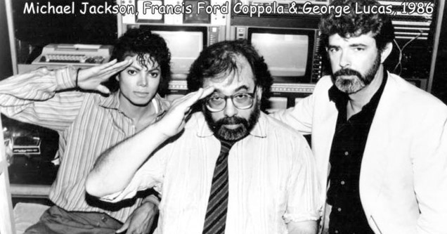 michael jackson francis coppola and george lucas