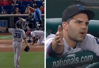 marlins pitcher ejected