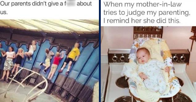 kids in gravitron | baby on stove