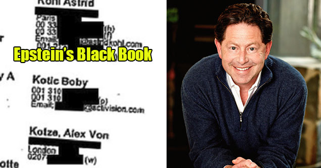 Activision Blizzard has been sued by the State of California over sexual harassment and the mistreatment of female employees -  Boby Kotic also featured in Epstein's little black book