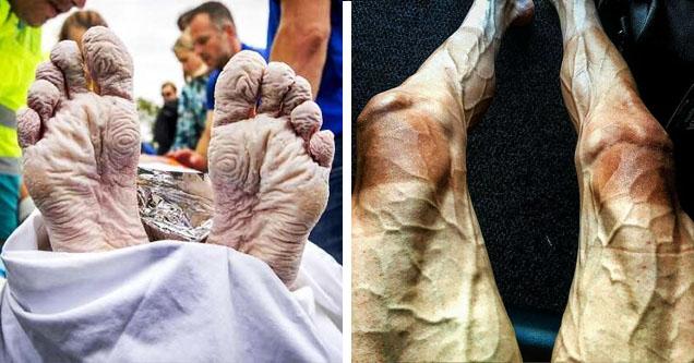 olympian feet and legs