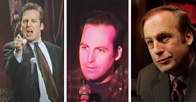 Bob Odenkirk through the years