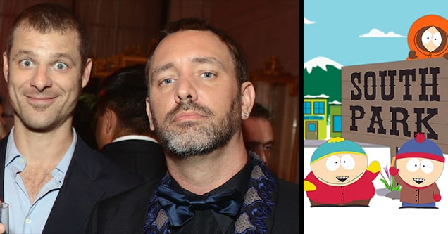 south park and creators