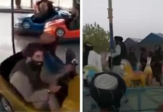 taliban bumper cars
