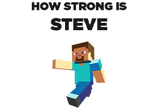 """Asking silly questions will give you silly answers, and we're not pretending this is anything other, but someone did the math behind how strong <a href=""""https://gaming.ebaumsworld.com/pictures/minecraft-steve-hangs-dong-in-super-smash-but-nintendo-disapproves/86422653/""""><strong>Steve</strong></a> from <a href=""""https://gaming.ebaumsworld.com/pictures/how-minecraft-ended-up-revolutionizing-the-gaming-industry/86955616/""""><strong>Minecraft</strong></a> really is, and well, he's pretty damn strong."""