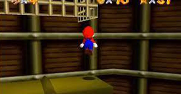 speedrunning mystery - Super Mario 64 upwarp glitch caused by ionized particles from space