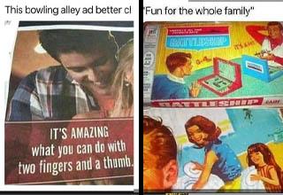 WTF advertisements