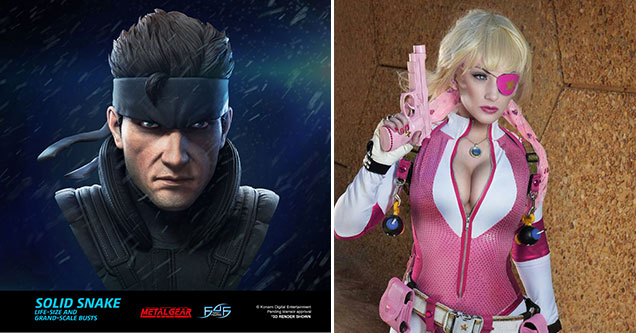video game characters cosplayers love to make sultry -  Solid Snake -  sexy cosplay