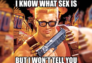 I know what sex is but I won't tell you meme - gianni matragrano