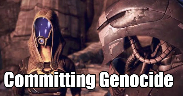 ten cool things video game let you do -  committing genocide