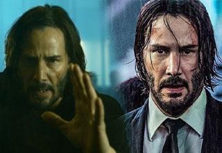 Neo from Matrix 4 and John Wick