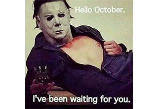 """Seasonally appropriate <strong><a href=""""https://www.ebaumsworld.com/pictures/45-fun-and-random-ones-to-get-you-in-the-mood-for-halloween/86429981/"""" target=""""_blank"""">memes</a></strong>, not available for the same feel in Louisiana or Florida. Happy autumn, everyone!"""