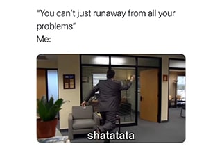 """Much like <strong><a href=""""https://www.ebaumsworld.com/pictures/the-office-memes-that-deserve-all-the-dundies/85994016/"""" target=""""_blank"""">Jim Halpert</a></strong>, none of us are trying to spend our weeknights (let alone weekends) at a dinner party with our boss. <br> <br> Pretend you're actually working by staring at these memes."""