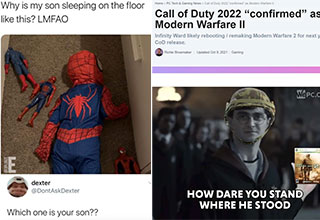 """If you're here looking for <a href=""""https://gaming.ebaumsworld.com/pictures/30-gaming-pics-and-memes-about-games-that-are-perfect-for-gamers-who-game/87003211/""""><strong>funny gaming memes</strong></a>, then you've come to the right place. <br><br> So sit back, relax, and scroll through a fresh set of <a href=""""https://gaming.ebaumsworld.com/pictures/funny-memes-from-the-games-we-play/87002481/""""><strong>funny memes and pics</strong></a> from the games that we play. <br><br> And before you go, check out: <a href=""""https://gaming.ebaumsworld.com/pictures/top-paid-twitch-streamers-according-to-the-twitch-leaks/87002540/""""><strong>The Top 30 Highest Paid Twitch Streamers According to The Twitch Leaks </strong></a>"""