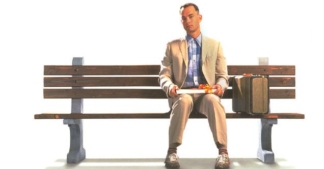 Tom Hanks in 'Forrest Gump' promo photo