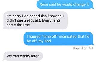 creepy boss text