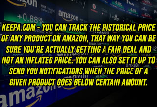 amazon stock background - Keepa.com - You can track the historical price of any product on Amazon, that way you can be sure you're actually getting a fair deal and not an inflated price. You can also set it up to send you notifications when the price of a