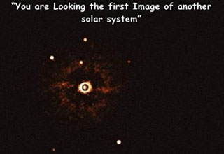 atmosphere - You are Looking the first Image of another solar system