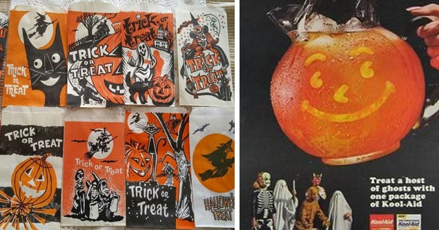 vintage halloween treat bags - Wn or Trick Ava O Treat trick Great Bal Trick Treat 4ZOR Trick Treat Or Surprise Bag Mua Trick Or Treat Trick or Treat The Www Re Trickor Treat. Halloween Treat   halloween kool aid - Won Treat a host of ghosts with one pack