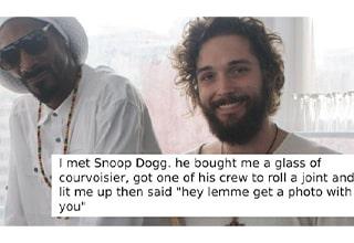meeting snoop dogg