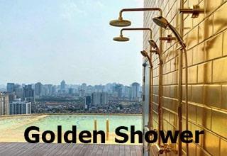 real life golden shower