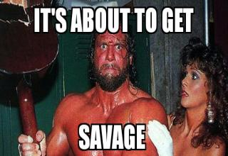 END THE WORK WEEK WITH SOME SAVAGE