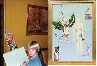 Disturbing  Illustrations by Nirvana frontman Kurt Cobain