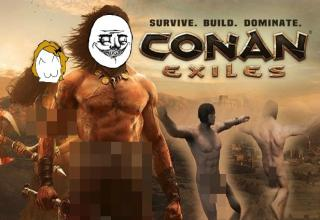 The Conan Exiles Sword Ruler to Measure Your Junk - Ftw