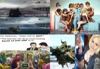 A large dose of gaming related images for your leisure.