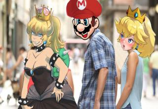 "Shigeru Miyamoto probably has never dreamt this, even in his worst nightmares. <br/><br/> Want to see more? <a href=""http://www.ebaumsworld.com/pictures/meet-the-internets-newest-meme-bowserette/85774221/""> Meet The Internet's Newest Meme - Bowsette</a>"